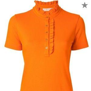 Tory Burch five button shirt